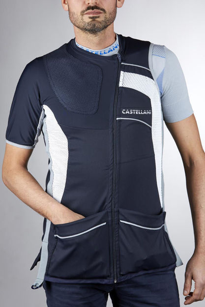 Picture of CASTELLANI MENS TK PRO ALCANTARA VEST 029-104