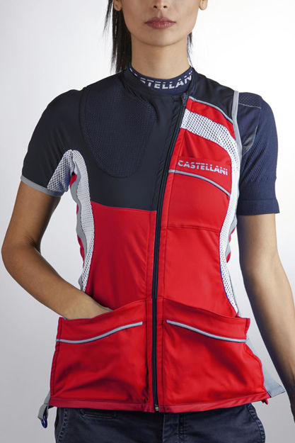 Picture of CASTELLANI WOMENS TK PRO ALCANTARA VEST 031-102